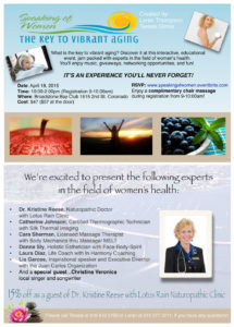 wellness event postcard Dr. Reese1